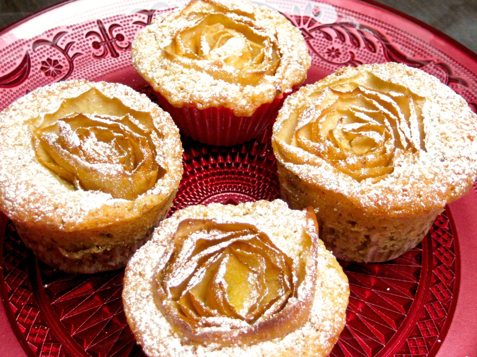 Apple Rose Muffins1.1