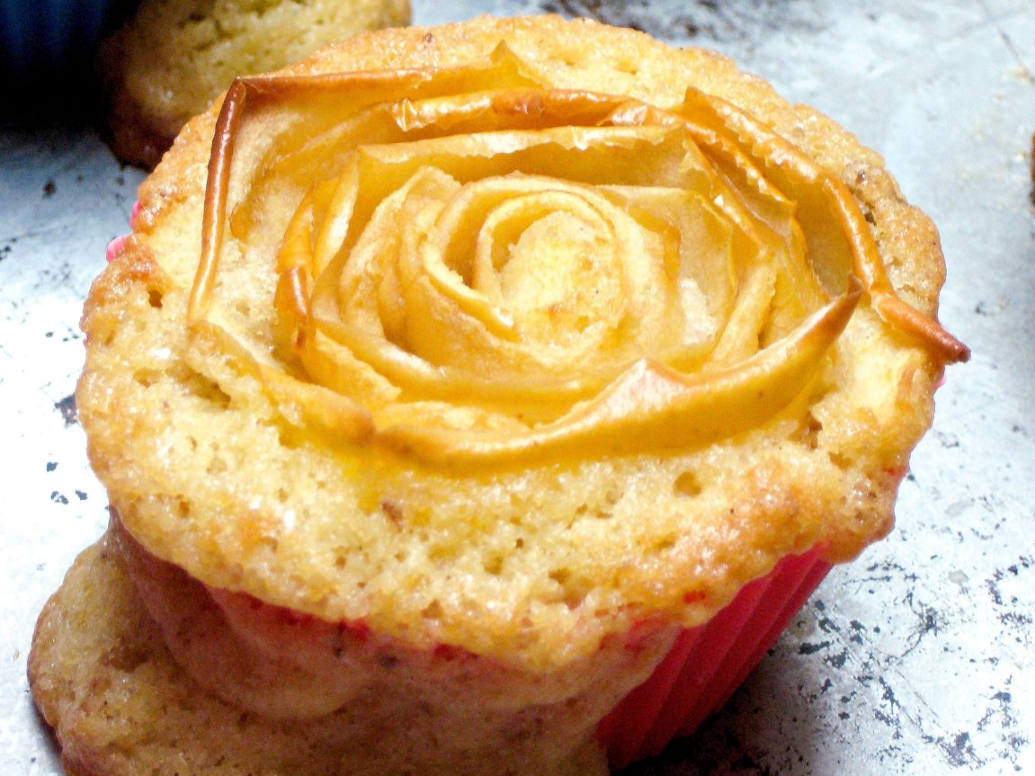 Apple Rose Muffins6.1