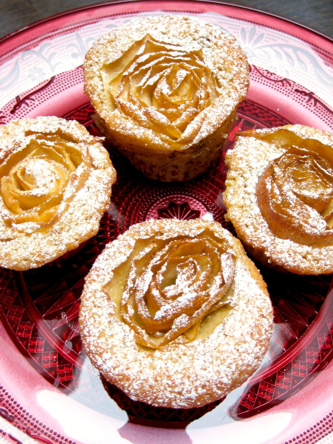 Apple Rose Muffins7