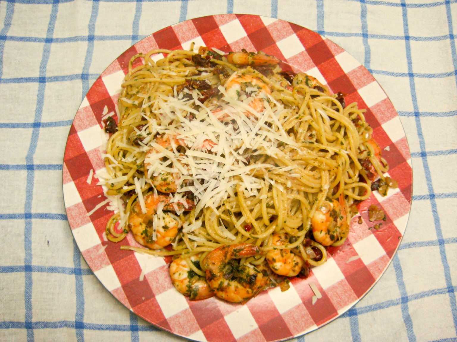 Speedy Shrimp Pasta