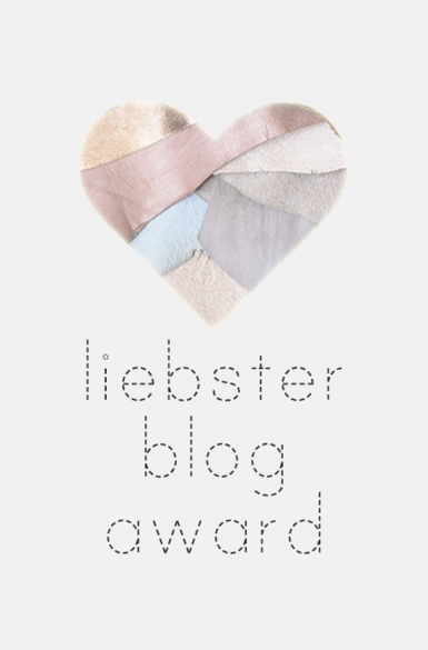 liebster blog award