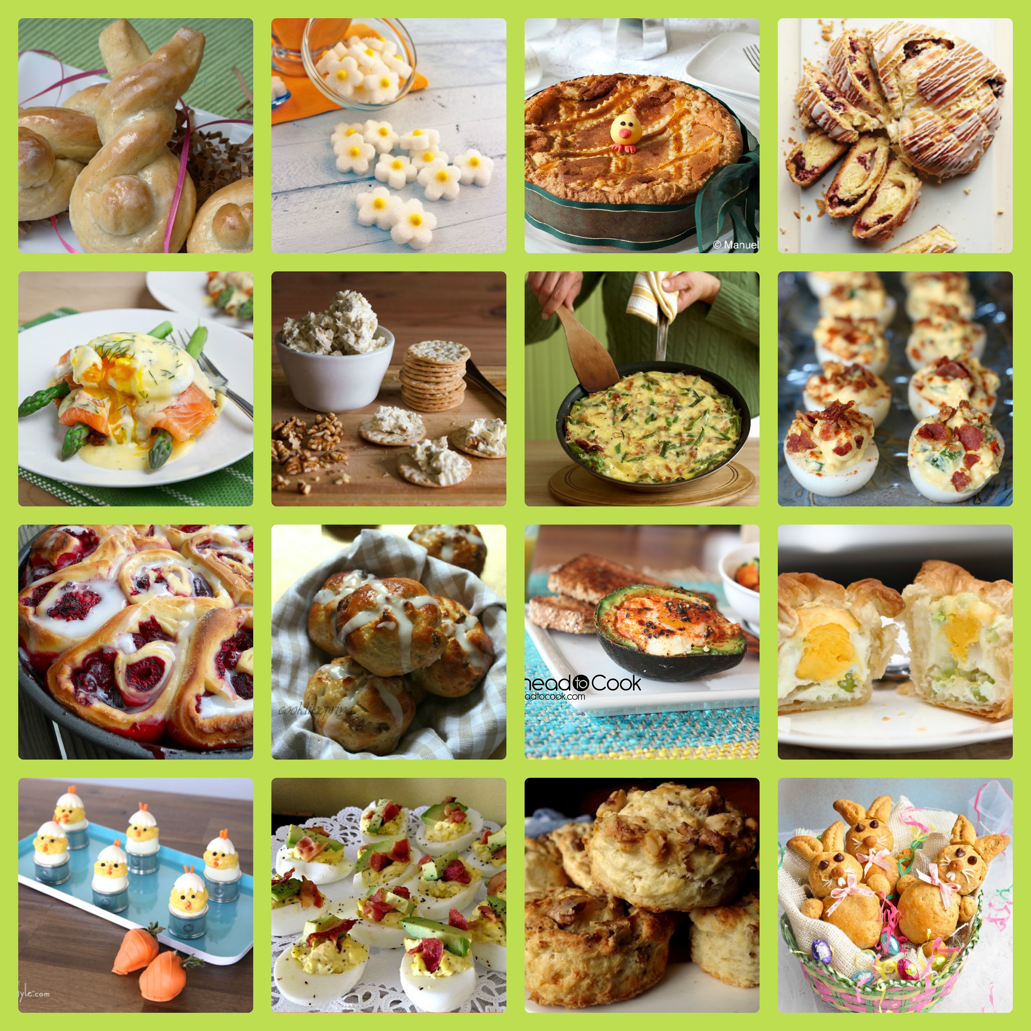 Easter Brunch & Breakfast Ideas