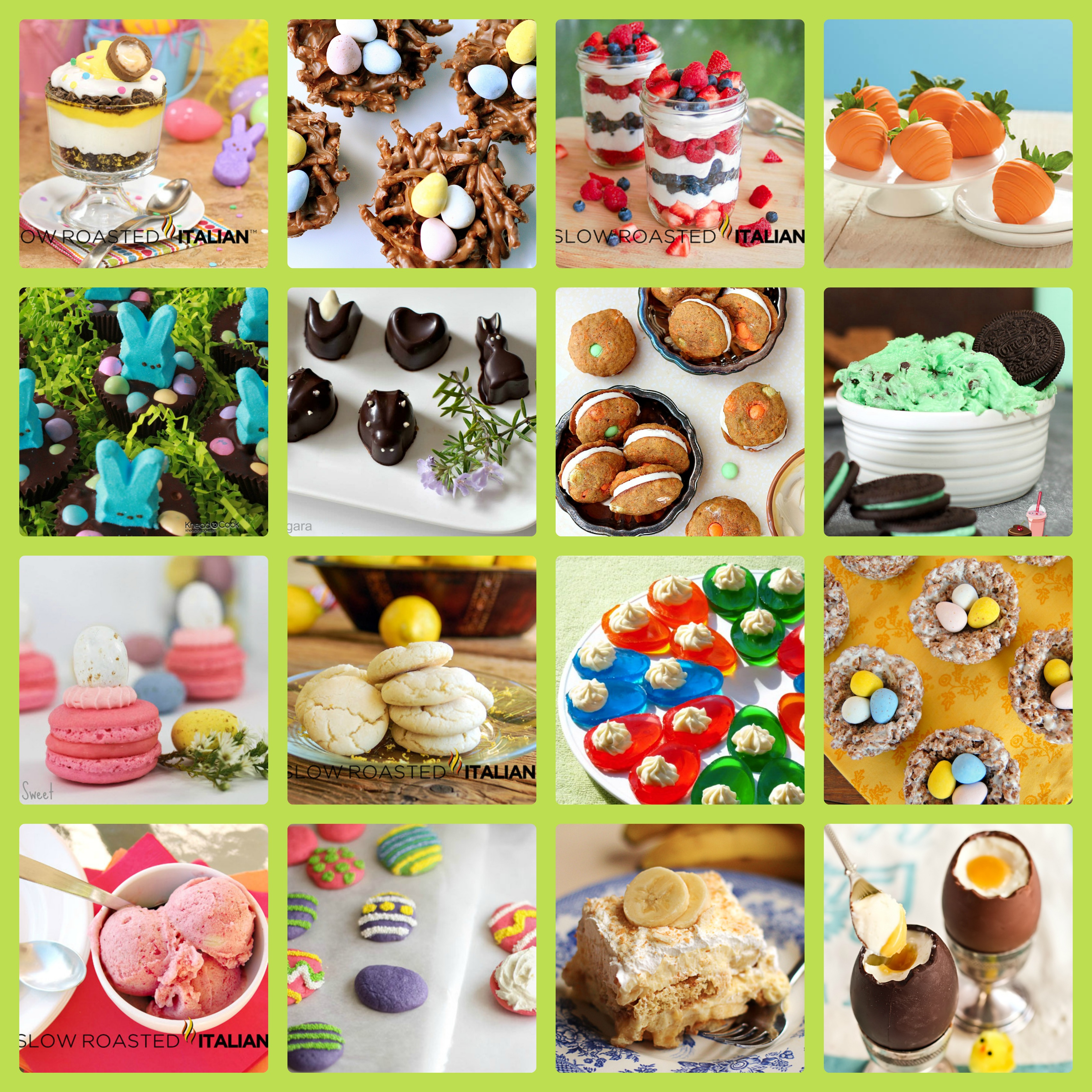 Desserts & Sweets Easter Recipes