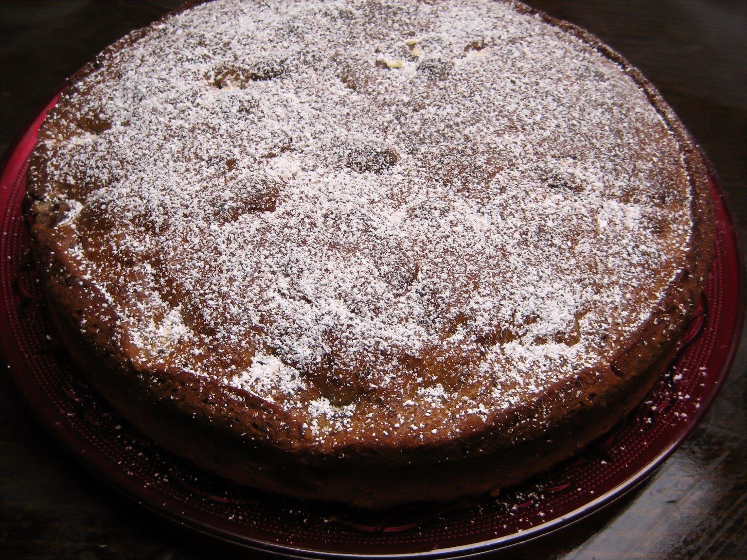 Cake Ginger Lemon Spice