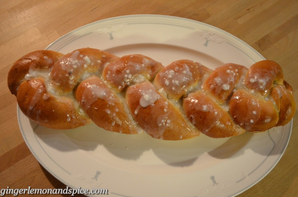Braided Yeast Bread with Walnut Filling – Hefezopf mit Walnussfüllung by gingerlemonandspice