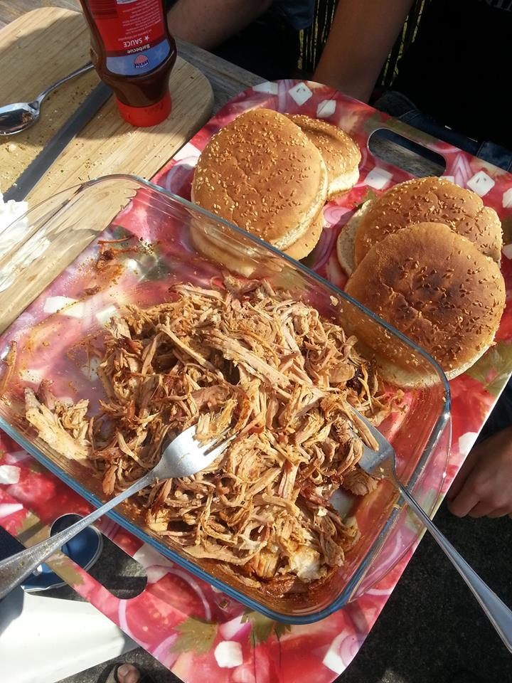 Pulled Pork, Magic Dust and Coleslaw from gingerlemonandspice