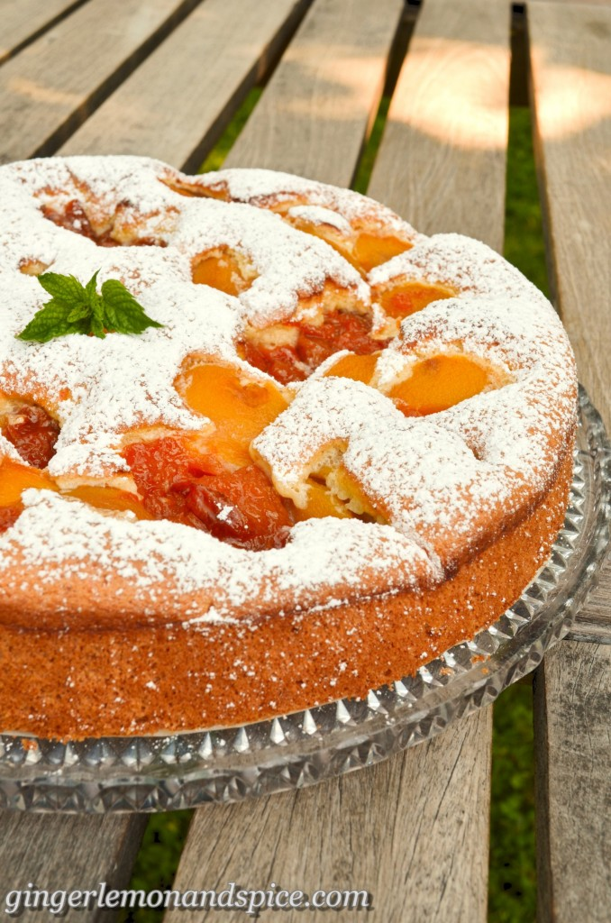 Easy Low Fat Apricot Cake