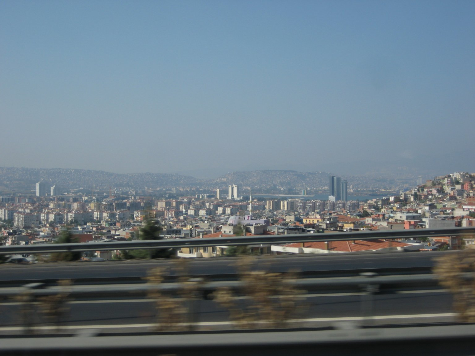 way back into the buzzling city if Izmir