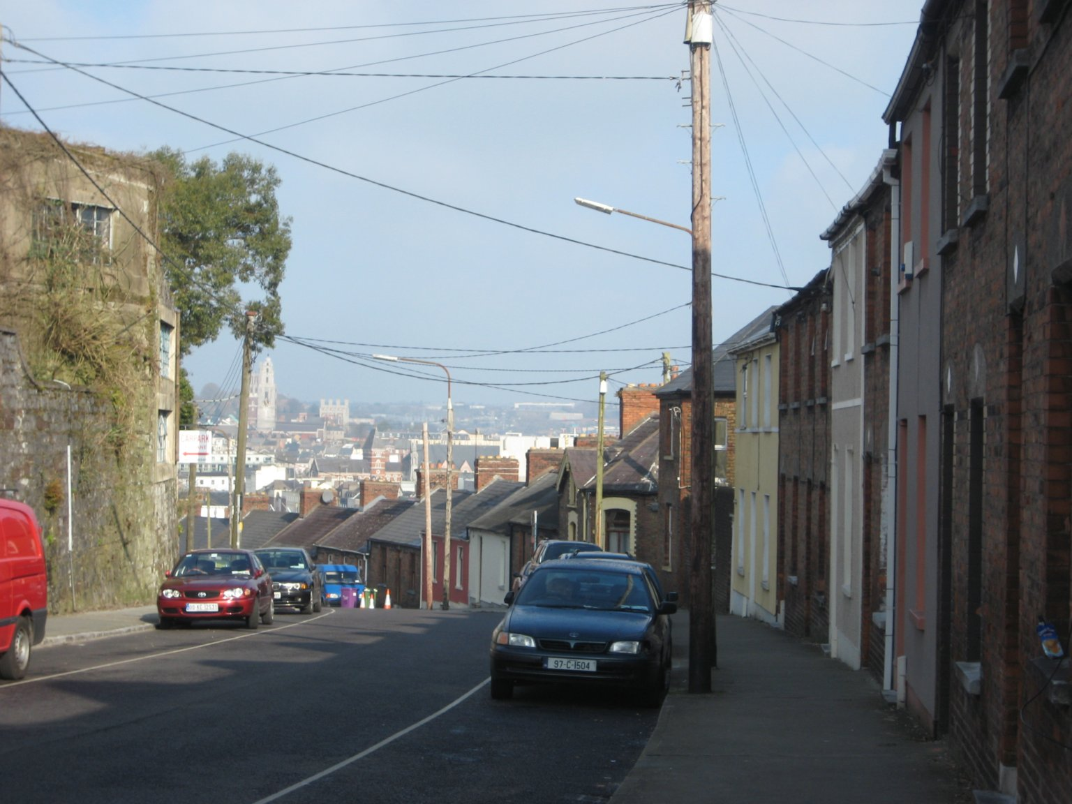 residential area in Cork