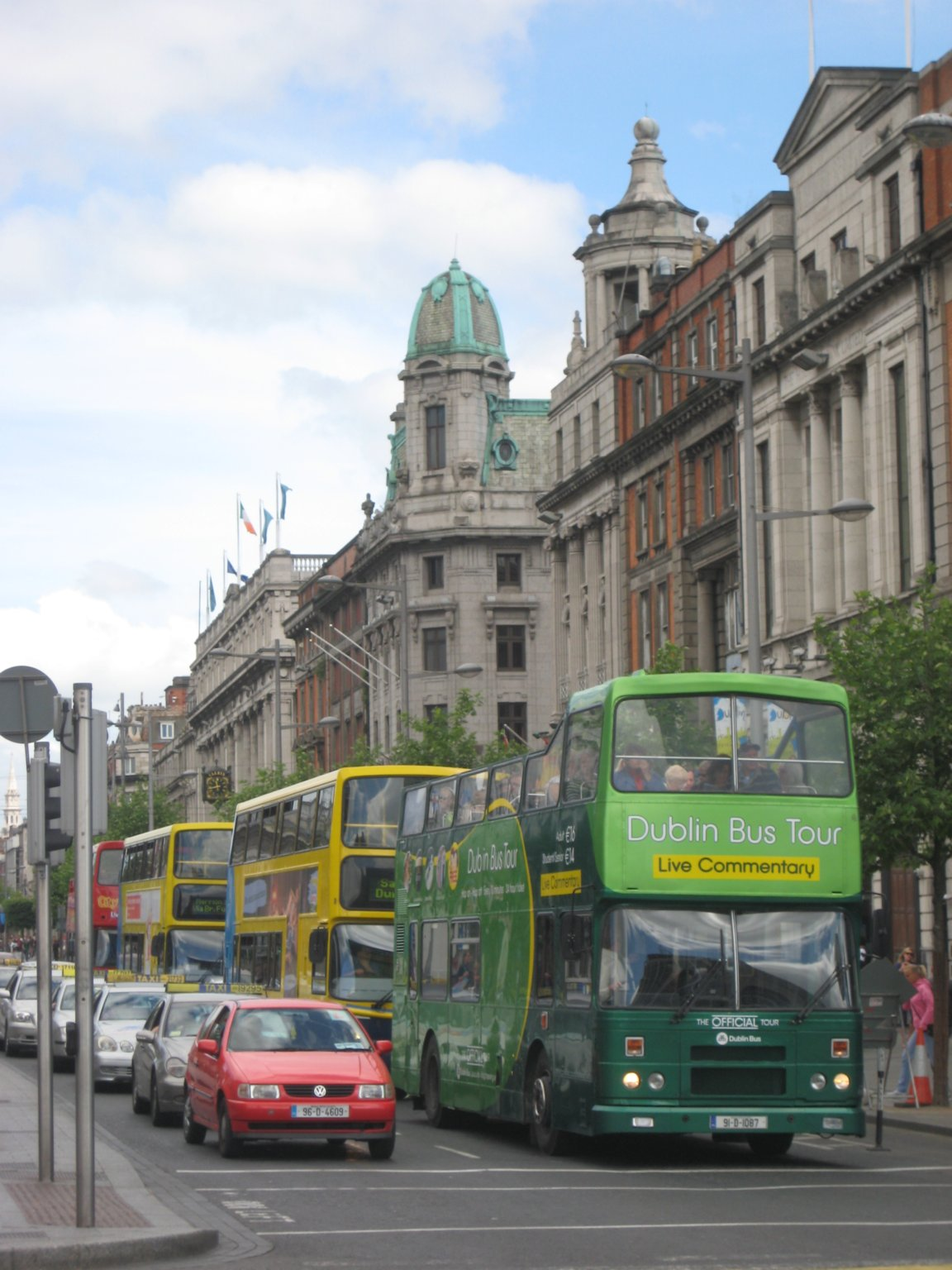 Dublin city tour buses
