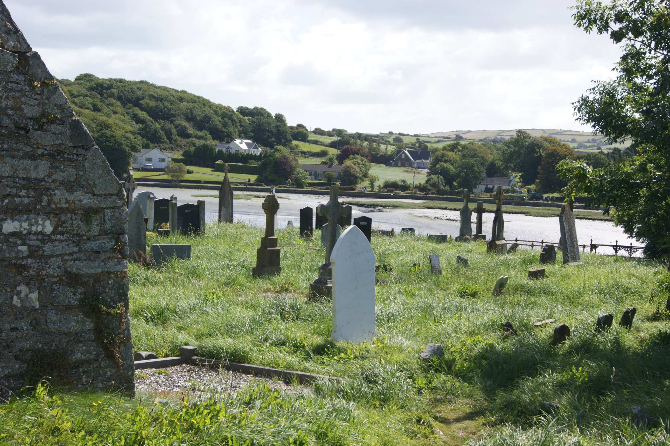 seaside graveyard