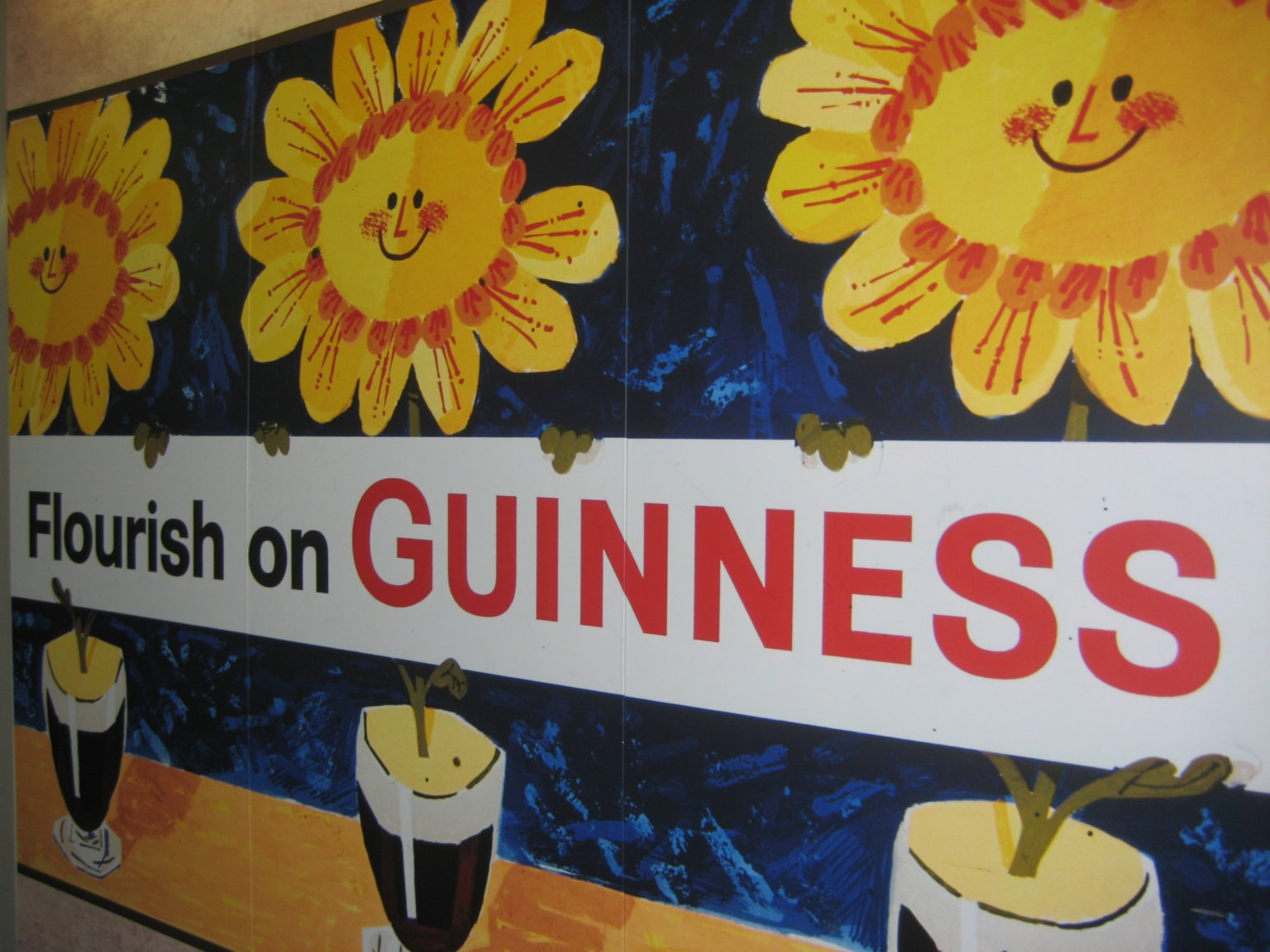 Visit to the Guinness Storehouse, Dublin