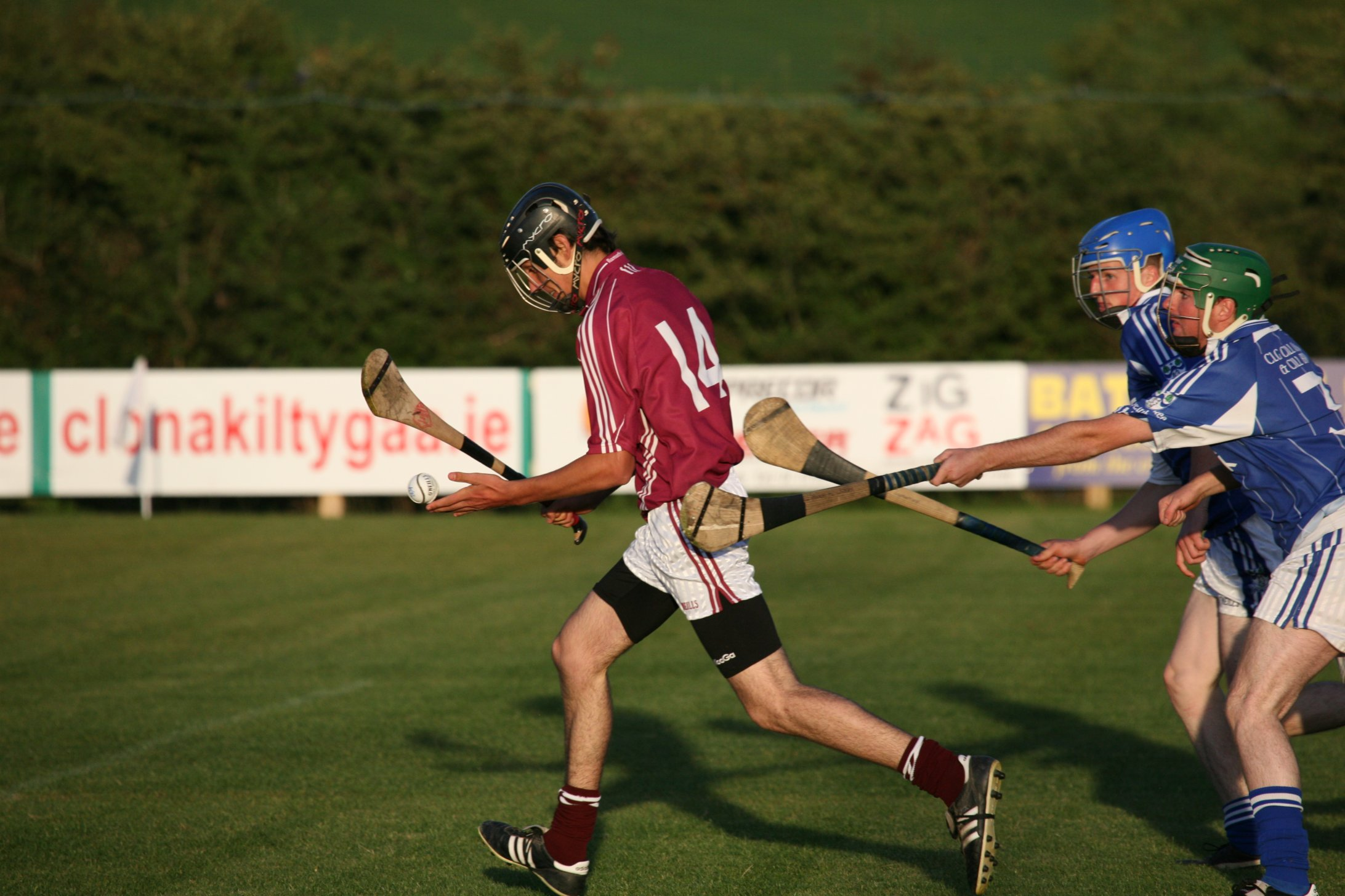 Irish national sport: Hurling!