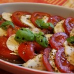 Caprese – Tomatoes, Mozzarella and Basil Salad