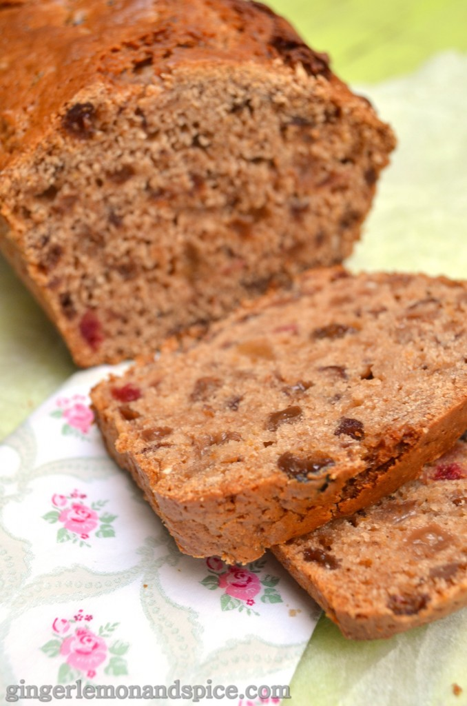 Around The World, Week by Week: Ireland - IRISH BARMBRACK by gingerlemonandspice