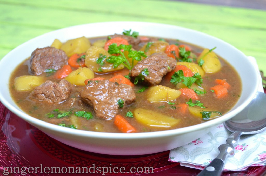 Around The World, Week by Week: Ireland - IRISH STEW by gingerlemonandspice