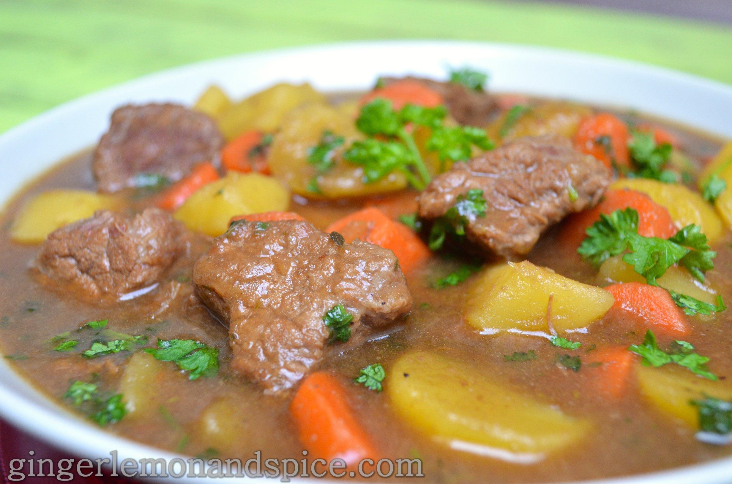 Around The World: Ireland – Irish Stew with Guinness ...