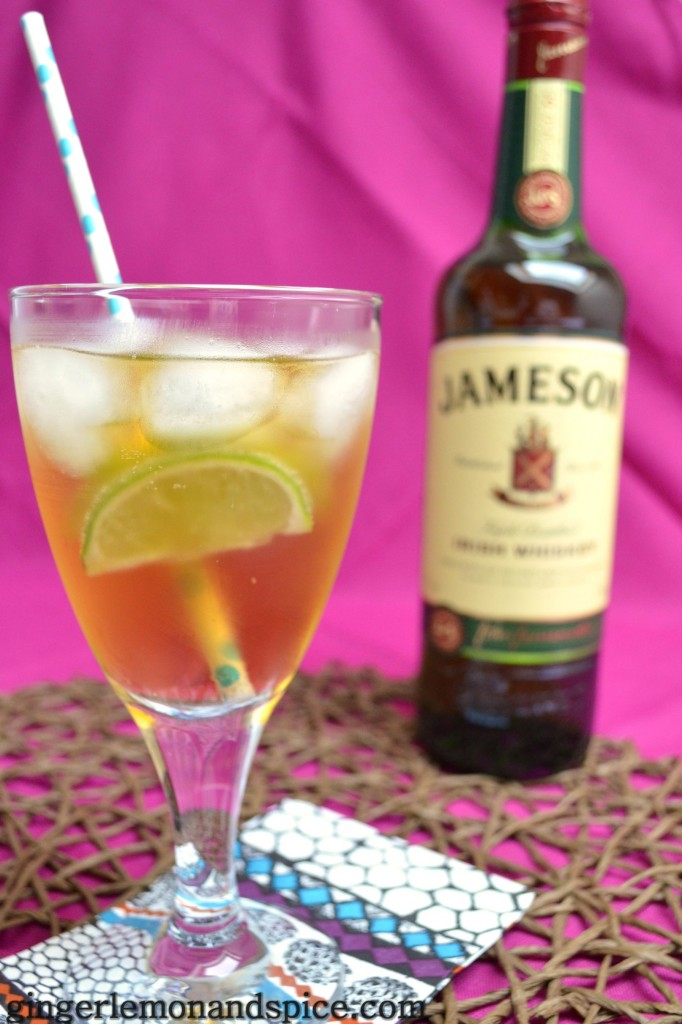Around The World, Week by Week: Ireland - Jameson Whiskey Drink with Ginger Ale by gingerlemonandspice