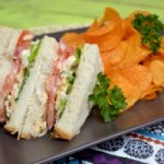 Around The World: Ireland – Eggsalad Sandwich & Crisps