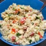 Simple Everyday Couscous Salad