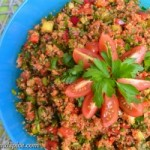 Around the World – Turkey: Kısır, Bulgur Salad