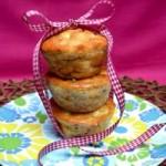 Zucchini, Corn And Feta Muffins